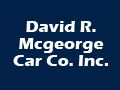 David R. Mcgeorge Car Co. Inc.