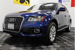 2013 Audi Q5 SUV for sale in Iowa City for $34,000 with 3,250 miles.