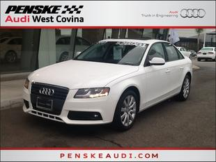 2012 Audi A4 Sedan for sale in West Covina for $27,491 with 20,490 miles.