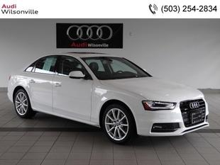 2014 Audi A4 2.0T Premium Sedan for sale in Wilsonville for $38,391 with 8,096 miles.