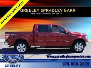 2013 Ford F150 Lariat Crew Cab Pickup for sale in Greeley for $36,000 with 23,312 miles.