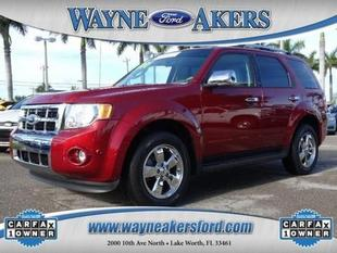 2012 Ford Escape Limited SUV for sale in Lake Worth for $20,992 with 44,997 miles.