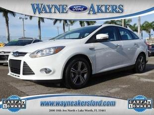 2014 Ford Focus SE Sedan for sale in Lake Worth for $16,994 with 498 miles.