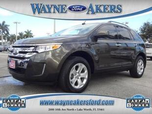 2011 Ford Edge SEL SUV for sale in Lake Worth for $19,994 with 38,446 miles.