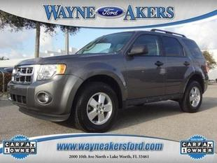 2012 Ford Escape XLT SUV for sale in Lake Worth for $16,994 with 35,325 miles.