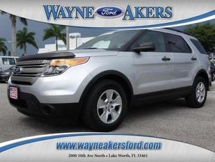 2012 Ford Explorer Base SUV for sale in Lake Worth for $23,991 with 47,375 miles.