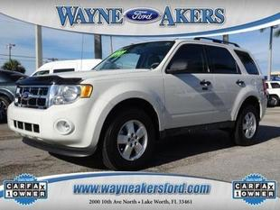 2012 Ford Escape XLT SUV for sale in Lake Worth for $20,991 with 6,915 miles.