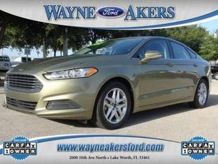 2013 Ford Fusion SE Sedan for sale in Lake Worth for $17,995 with 35,016 miles.