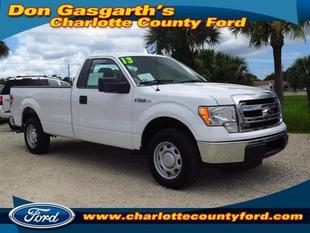 2013 Ford F150 XL Regular Cab Pickup for sale in Port Charlotte for $22,900 with 12,883 miles.