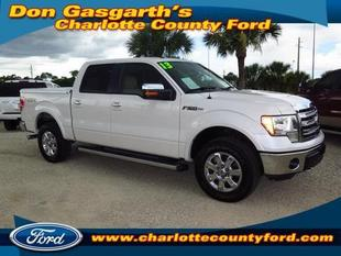 2013 Ford F150 Lariat Crew Cab Pickup for sale in Port Charlotte for $41,900 with 16,565 miles.