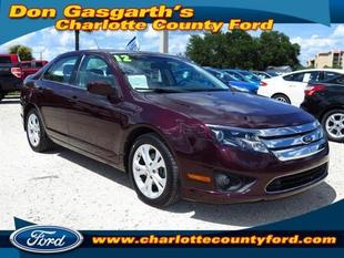 2012 Ford Fusion SE Sedan for sale in Port Charlotte for $18,900 with 17,256 miles.