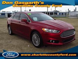 2013 Ford Fusion Titanium Sedan for sale in Port Charlotte for $24,900 with 21,210 miles.