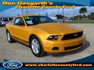 2012 Ford Mustang V6 Coupe for sale in Port Charlotte for $19,500 with 28,567 miles.