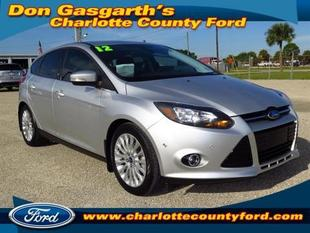 2012 Ford Focus Titanium Hatchback for sale in Port Charlotte for $19,900 with 15,686 miles.