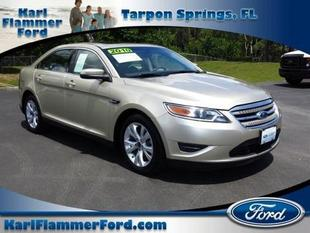 2010 Ford Taurus SEL Sedan for sale in Tarpon Springs for $13,995 with 62,527 miles.