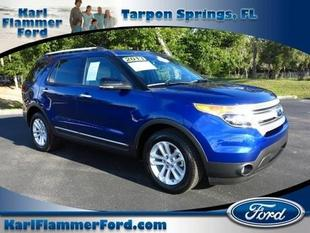 2013 Ford Explorer XLT SUV for sale in Tarpon Springs for $27,337 with 28,760 miles.