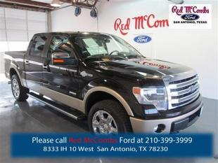 2014 Ford F150 King Ranch Crew Cab Pickup for sale in San Antonio for $45,995 with 4,014 miles.