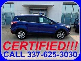 2014 Ford Escape Titanium SUV for sale in Sulphur for $25,657 with 18,438 miles.