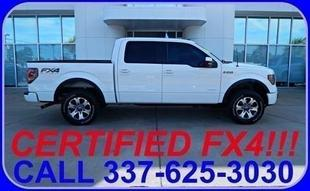 2012 Ford F150 FX4 Crew Cab Pickup for sale in Sulphur for $36,787 with 26,309 miles.