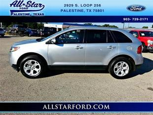 2013 Ford Edge SEL SUV for sale in Palestine for $23,888 with 37,213 miles.