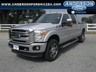 2014 Ford F250 Lariat Crew Cab Pickup for sale in Anderson for $51,999 with 23,879 miles.