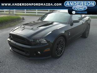 2013 Ford Mustang Shelby GT500 Coupe for sale in Anderson for $57,988 with 15,970 miles.
