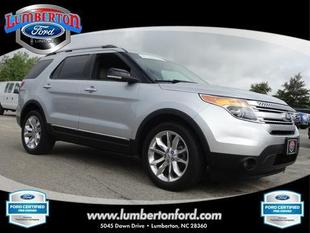 2013 Ford Explorer XLT SUV for sale in Lumberton for $33,879 with 37,982 miles.