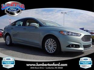 2013 Ford Fusion Hybrid SE Hybrid Sedan for sale in Lumberton for $26,249 with 20,450 miles.