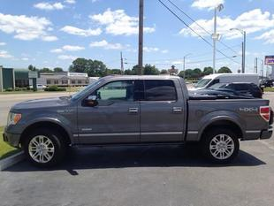 2012 Ford F150 Platinum Crew Cab Pickup for sale in Muscle Shoals for $36,525 with 45,363 miles.