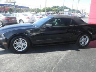 2014 Ford Mustang V6 Convertible for sale in Muscle Shoals for $19,625 with 34,702 miles.