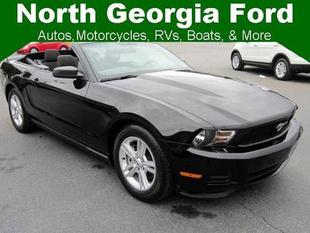 2012 Ford Mustang Convertible for sale in Blue Ridge for $18,493 with 32,226 miles.