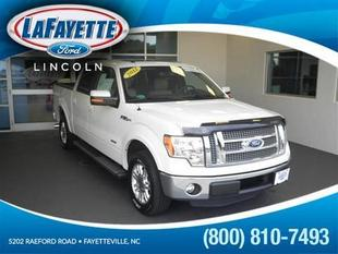 2012 Ford F150 Lariat Crew Cab Pickup for sale in Fayetteville for $34,942 with 39,975 miles.