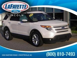2011 Ford Explorer Limited SUV for sale in Fayetteville for $38,441 with 38,304 miles.