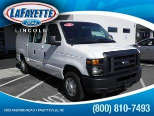 2013 Ford E150 Cargo Van for sale in Fayetteville for $21,974 with 21,480 miles.