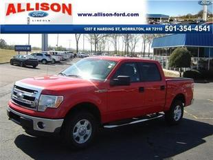 2013 Ford F150 Crew Cab Pickup for sale in Morrilton for $33,450 with 17,338 miles.