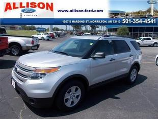 2013 Ford Explorer Base SUV for sale in Morrilton for $24,950 with 37,143 miles.