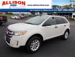 2013 Ford Edge SE SUV for sale in Morrilton for $23,850 with 9,793 miles.