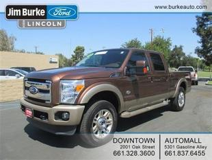 2012 Ford F250 Crew Cab Pickup for sale in Bakersfield for $49,968 with 36,312 miles.