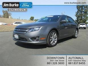 2012 Ford Fusion SEL Sedan for sale in Bakersfield for $17,972 with 30,598 miles.