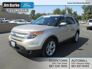 2011 Ford Explorer Limited SUV for sale in Bakersfield for $33,960 with 29,378 miles.