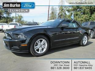 2014 Ford Mustang V6 Convertible for sale in Bakersfield for $17,756 with 36,996 miles.
