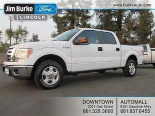 2011 Ford F150 Crew Cab Pickup for sale in Bakersfield for $28,720 with 13,080 miles.