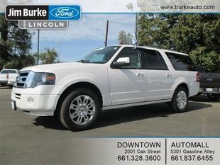 2011 Ford Expedition EL Limited SUV for sale in Bakersfield for $35,802 with 36,592 miles.