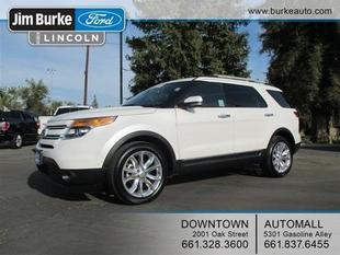 2012 Ford Explorer Limited SUV for sale in Bakersfield for $32,949 with 32,141 miles.