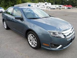 2012 Ford Fusion SEL Sedan for sale in Dexter for $18,900 with 22,911 miles.