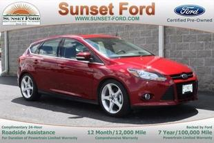 2014 Ford Focus Titanium Hatchback for sale in Waterloo for $18,981 with 24,598 miles.