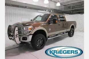2011 Ford F250 Lariat Crew Cab Pickup for sale in Muscatine for $43,994 with 40,977 miles.