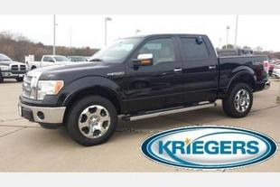 2011 Ford F150 Lariat Crew Cab Pickup for sale in Muscatine for $32,990 with 47,338 miles.