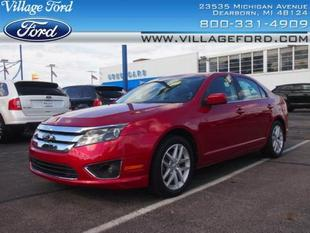 2012 Ford Fusion SEL Sedan for sale in Dearborn for $18,280 with 23,836 miles.