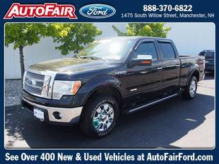 2013 Ford F150 Lariat Crew Cab Pickup for sale in Manchester for $44,592 with 20,669 miles.